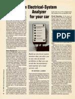 Car Electrical System Analyzer