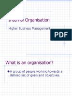 Internal Organisation v3
