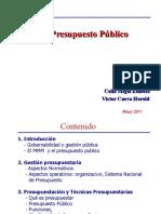 Presupuesto Publico Celia Victor Mayo2011