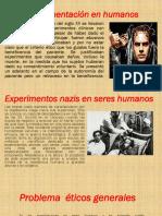 Experimentación en Humanos