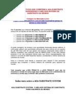 ADA SUBSTRATE SYSTEM - ONDE COMPRAR