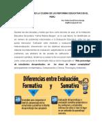 Ensayo Evaluación Educativa PDFB