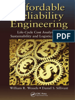 Affordable Reliability Engineering - Life-Cycle Cost Analysis for Sustainability and Logistical Support (CRC, 2015)