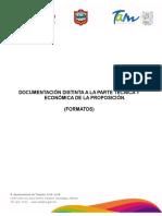 Documentación Distinta a La Parte Tecnica y Económica