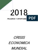 Pequeno analisis sobre crisis economica futura