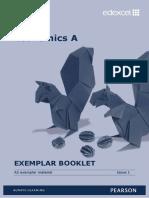 As Economics a Exemplar Booklet