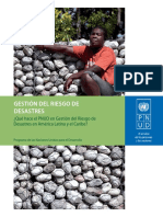 Brochure_Desastres_sp Gestion Del Riesgo de Desastres