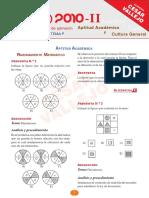 Solucionario UNI 2010-2 Aptitud Academica y Cultura General