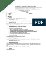 Formato Para El Informe de Las Prácticas de Laboratorio