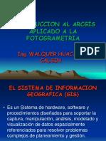 Introduccion Al Arcgis en Fotogrametria