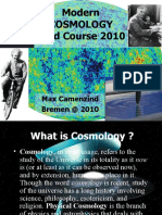 Day 1 Cosmology 2010