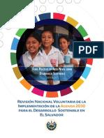 GOES (2017). Revisión Nacional Voluntaria de La Implementación Agenda 2030