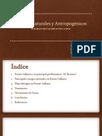 Riesgos Naturales y Antropogénicos