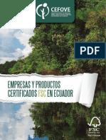 Empresas y Productos Certificados FSC en Ecuador