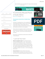4 Commonly Misused Pieces of Audio Advice.pdf