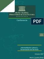 Intermediación Laboral y Tercerización de Servicios.pptx