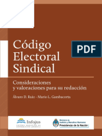 Codigo Electorial Sindical