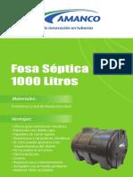 Ficha Tecnica Fosa Septica 1000 Litros