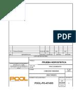 3.POOL-PO-AT-003 REV. 0  Prueba Hidrostatica.doc