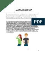 La Adolescencia-carloscho Tu Sobrino Favorito