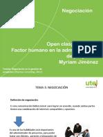 Open Class Factor Humano en La Administracion de Proyectos Semana 3 Mayo 2018