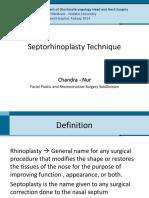 Sep to Rhinoplasty
