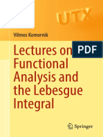 (Universitext) Vilmos Komornik (auth.)-Lectures on Functional Analysis and the Lebesgue Integral-Springer (2016).pdf