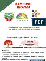 Presentasi Ke-3 Kampung Inovasi
