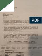 Notificación de la Contraloría enviada al Concejo Municipal de Colcapirhua