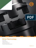 Catalogo de Acoples y Limitadores de Torque KTR