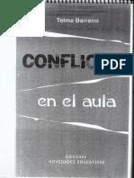 Conflictos en El Aula - Thelma Barreiro