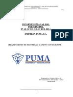 Informe semanal PUMA S.A.   Semana del 27 al 03 de Julio 2014 (1) - copia.docx