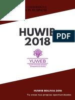 Cartilla Informativa Huwib 2018