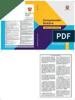 Comprensión lectora 2 manual para el docente de segundo grado de Secundaria.pdf