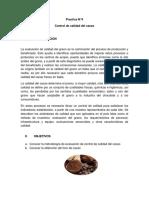Control de Calidad Del Cacao