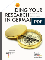 DAAD RIG Funding Your Research in Germany 2018 Barrierefrei