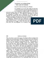 AGASSI, Joseph (sf) Philosophy as Literature, The Case of Borges.pdf