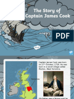 the story of captain james cook powerpoint