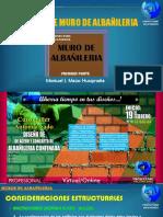 Taller de Albañileria Confinada