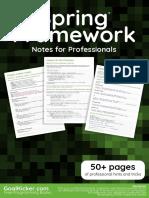 Spring Framework Notes For Professionals.pdf