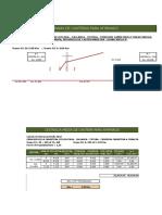 Hoja Excel para el cálculo de distancia media para el Transporte de Material para afirmado