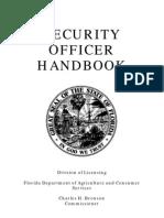 Security Officer Handbook