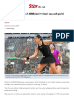 Squash_ Nicol Should Clinch Fifth Individual Squash Gold Medal in Asiad _ the Star Online