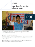 Three-cornered Fight for Key by-election in Selangor State, SE Asia News & Top Stories - The Straits Times