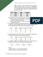ejercicios finanzas