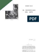 READ, Herbert El Significado del Arte.pdf