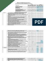 Format Pemetaan KD Kelas 1