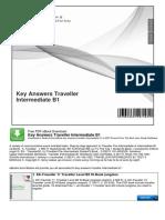 Key Answers Traveller Intermediate B1