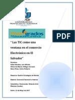 Trabajo Final Las Tics Como Una Ventana Para El Comercio Electronico en El Salvador