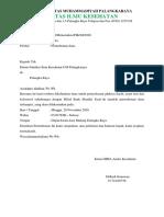 Surat Permohonan Dana Hima